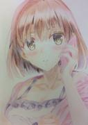 冴えカノ 加藤恵 描いてみた