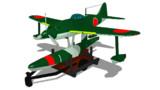 伍長式強風前期生産型MMDモデル配布