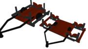 伍長式水上機用架台2種MMDモデル配布
