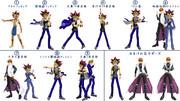 【MMD】決闘者用ポーズ1【漫画表紙等再現ポーズ】