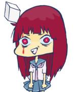 豆腐の角で頭打った女子