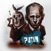 右のプーチン 左のプーチン