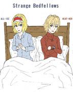 奇妙なベッド仲間