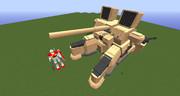 【minecraft】ライノサラスA型を作ってみた【jointblock】