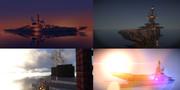 【Minecraft軍事部】DE-01B 霧氷級駆逐艦二号艦朝靄【第4作】