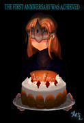 篝火いちごケーキ