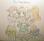 藍子ちゃん誕生日おめでとう!