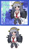 金剛型戦艦3番艦 榛名・改二ver2