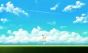 翔歌トリ『夏の飛行機雲』