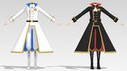 【MMD衣装配布】着せ替え用コート-【一般配布】
