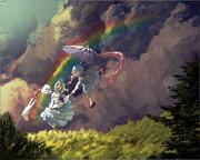 Drawing The Rainbow「雨上がり」