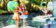 水辺の楽園♪