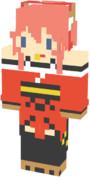 マイクラスキン FGO:タマモキャット