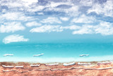 まる週間(2枚目) テーマ 海
