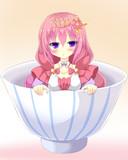 ハス様inお茶碗