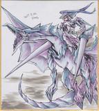 今日の色紙#359「竜騎士」