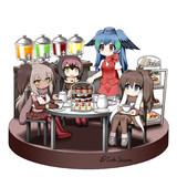 フレンズ達のお茶会
