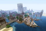 【Minecraft】PS4で街作り中!!!  港