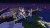 【Minecraft】PS4で街作り中!!!  門 夜Ver~