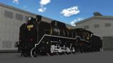 【モデル配布】D51型蒸気機関車200号機【MMD鉄道】