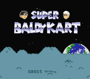 Super Baldy Kart タイトル