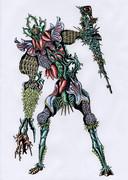 オリジナル怪人/カプリス・サラセニアン