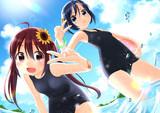 夏だ!海だ!スク水だ!