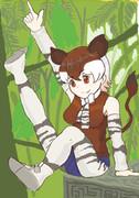 【けものフレンズ】森の貴婦人、オカピ