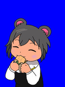 (BB版)チョコモナカジャンボを食べるNYN姉貴