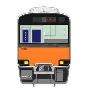 東武鉄道50000系51001編成前面図