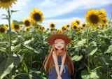 仁奈ちゃんとひまわり畑に行ってきました!