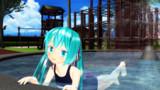 夏と公園とプール