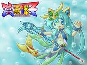 萌えキャラ高麗棒子さん人魚モード