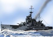 HMS 戦艦ウォースパイト(大英帝國)