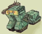 変なロボット