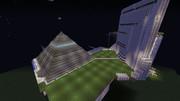 【改築】NERV本部のピラミッド(外側)