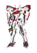 XFJ-01a不知火・弐型(デモンストレーターカラー)