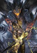 ドラゴンと騎士