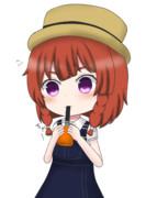 択捉ちゃんとオレンジジュース