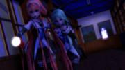 【江風、山風】二人で廃校へ・・・【MMD艦これ】