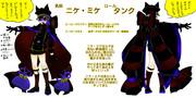 【コンパスヒーローデザイン】ニケ・ミケ【タンク】