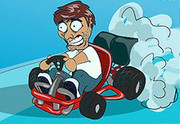 Super Baldy Kartのキャラ