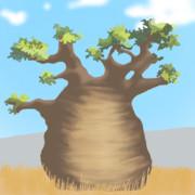 【トレス?】かばんちゃんがキノヴォリした木