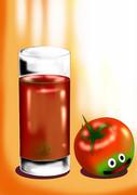 ・・・最近コメント欄に青汁よりトマトジュースが飲みたいというコメントあったな