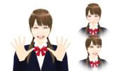 【MMDモデル配布】表情モーフ搭載エキストラ:WEP式HyperF子