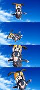 【MMD】GrayWolf in the sky