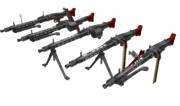 伍長式MG42 MMDモデル配布