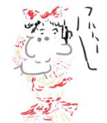 霊夢とスヌーピー