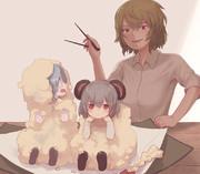 ねずみの天ぷら