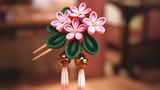小早川紗枝の花簪